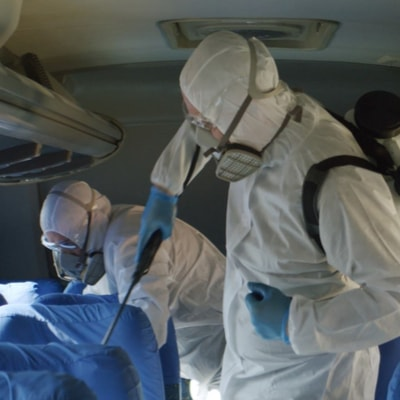 La désinfection du coronavirus covid 19